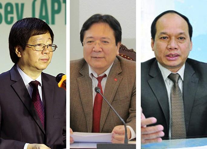 3 thứ trưởng nghỉ hưu từ ngày 1-9 - Ảnh 1.