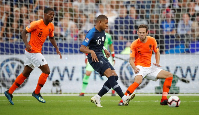 Chân gỗ Giroud ghi bàn, Pháp hạ Hà Lan ở Nations League - Ảnh 3.