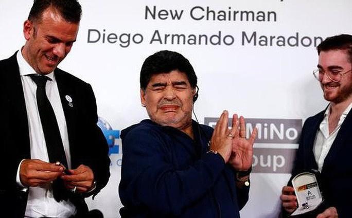 Diego Maradona sang Mexico làm HLV đội bóng… giải Hạng nhì - Ảnh 3.