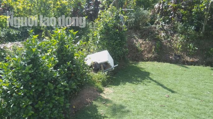 Bơm nước lũ cứu... cỏ, nam thanh niên bị điện giật tử vong - Ảnh 1.