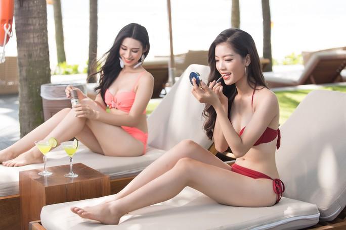Thí sinh Hoa hậu Việt Nam 2018 nóng bỏng trong MV Thiên đường là em - Ảnh 7.