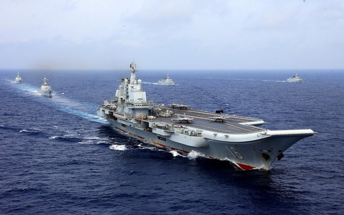 Tàu sân bay Trung Quốc bị chính máy bay nhà cản chân - Ảnh 3.