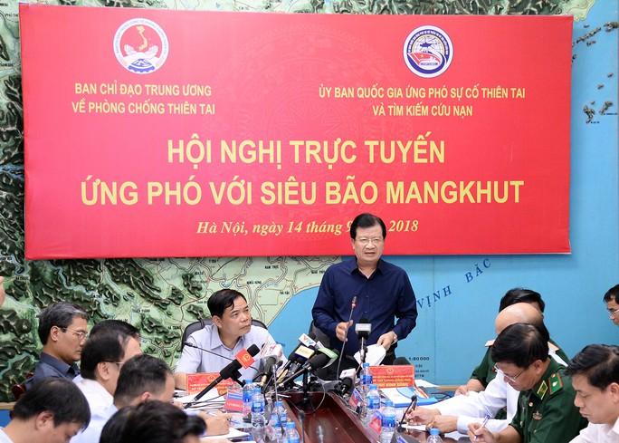 Khẩn cấp ứng phó siêu bão Mangkhut - Ảnh 1.