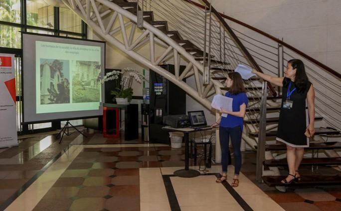 Khám phá di sản đậm dấu ấn lịch sử Đại sứ quán Pháp ở Hà Nội - Ảnh 5.