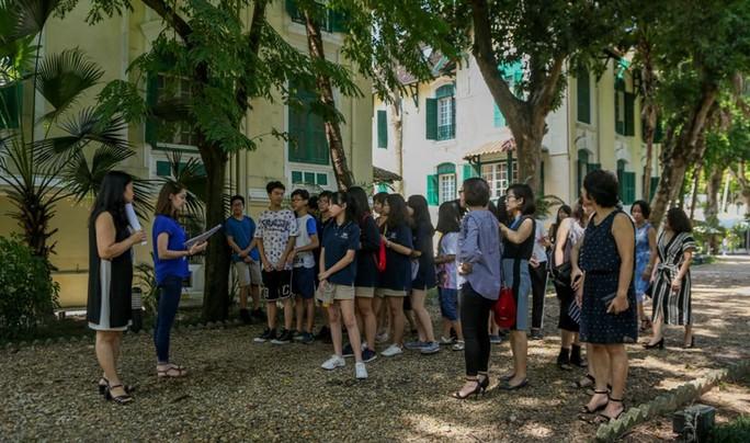Khám phá di sản đậm dấu ấn lịch sử Đại sứ quán Pháp ở Hà Nội - Ảnh 8.