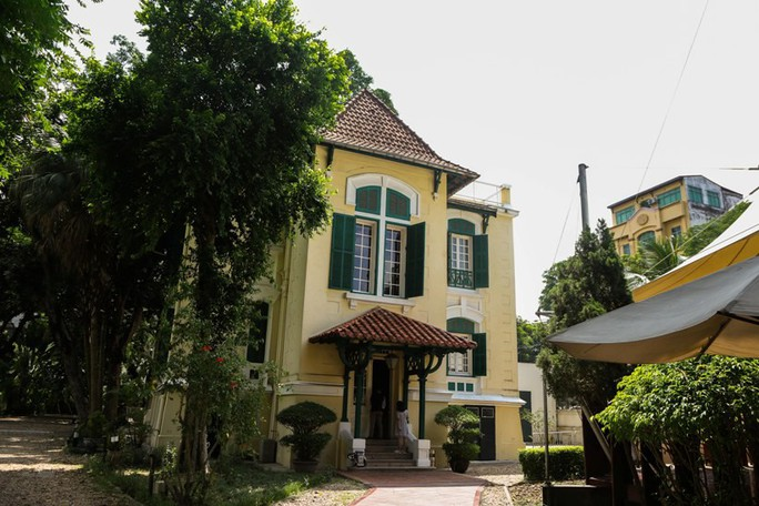 Khám phá di sản đậm dấu ấn lịch sử Đại sứ quán Pháp ở Hà Nội - Ảnh 10.