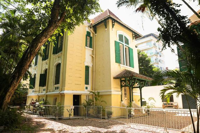 Khám phá di sản đậm dấu ấn lịch sử Đại sứ quán Pháp ở Hà Nội - Ảnh 12.