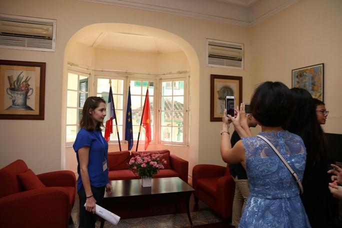 Khám phá di sản đậm dấu ấn lịch sử Đại sứ quán Pháp ở Hà Nội - Ảnh 14.