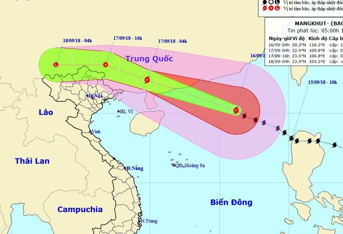 Siêu bão Mangkhut đổ bộ vào Trung Quốc, suy yếu nhanh - Ảnh 1.