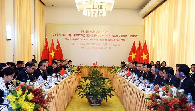 Ủy ban chỉ đạo hợp tác song phương Việt Nam - Trung Quốc họp tại TP HCM - Ảnh 1.