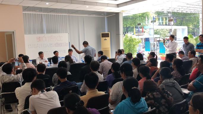 Dự án nhà ở xã hội 35 Hồ Học Lãm thất hứa lần 3, cư dân kêu trời - Ảnh 1.