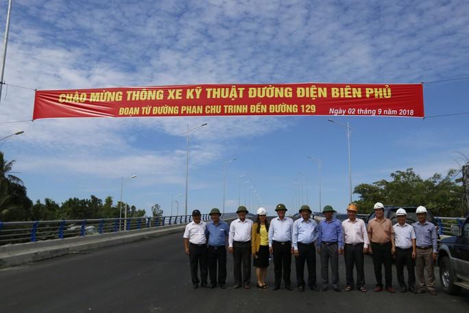 Quảng Nam thông xe đường xương sống của Tam Kỳ, kết nối cao tốc - Ảnh 2.