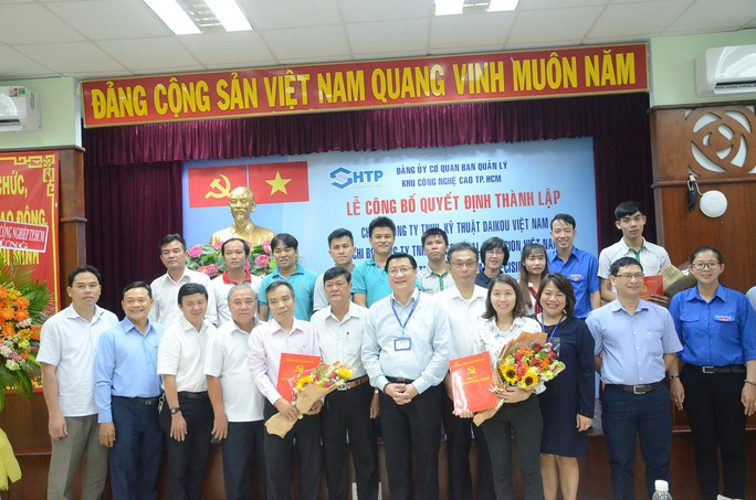 Thành lập  chi bộ Đảng tại 2 doanh nghiệp vốn nước ngoài - Ảnh 1.