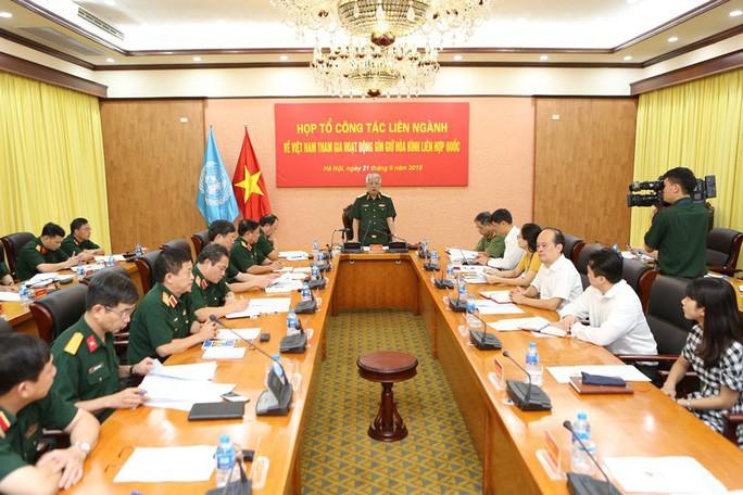 Tướng Nguyễn Chí Vịnh: Bệnh viện dã chiến rời Việt Nam làm nhiệm vụ gìn giữ hòa bình LHQ ngày 1-10 - Ảnh 1.