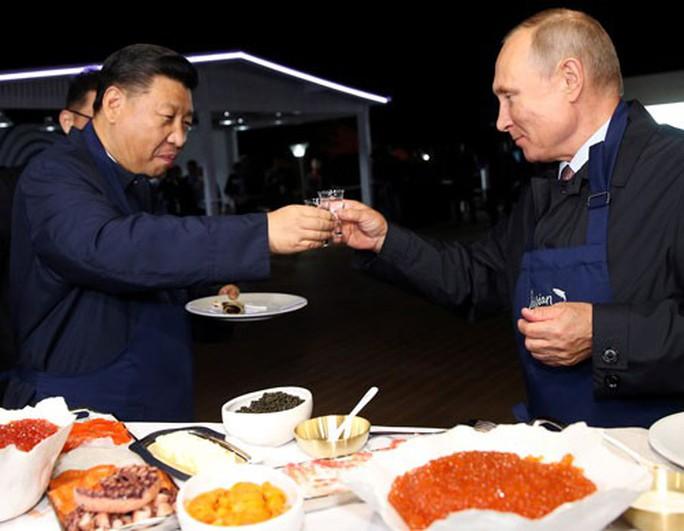 Nga - Trung: Quan hệ phức tạp - Ảnh 1.