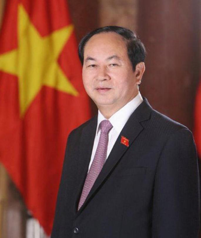 Chủ tịch nước Trần Đại Quang từ trần - Ảnh 1.