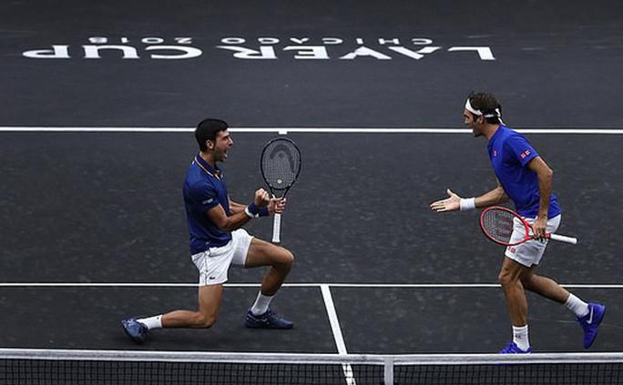 Cặp đôi Federer – Djokovic thua ngược ở Laver Cup 2018 - Ảnh 5.