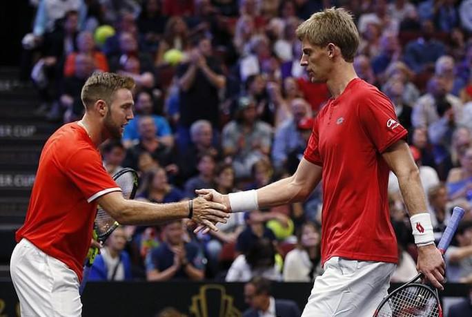 Cặp đôi Federer – Djokovic thua ngược ở Laver Cup 2018 - Ảnh 3.