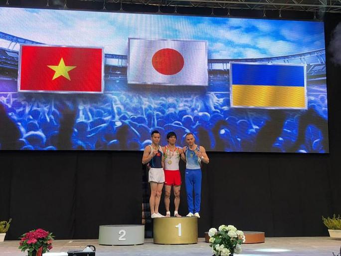 Thanh Tùng giành HCB Cúp TDDC thế giới Hungary - Ảnh 1.