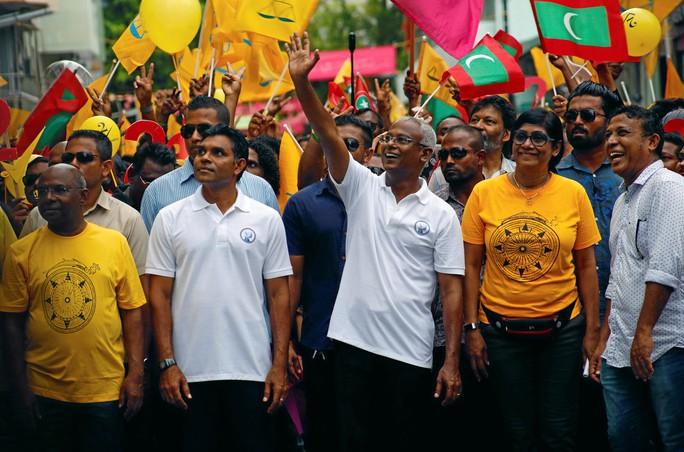 Bầu cử ở Maldives: Tổng thống bị hạ bệ - Ảnh 1.