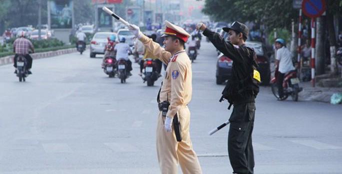 Hà Nội: Phân luồng giao thông để phục vụ Lễ Quốc tang Chủ tịch nước Trần Đại Quang - Ảnh 1.