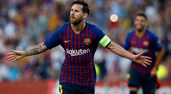 Messi lập kỷ lục trong ngày vui không trọn vẹn - Ảnh 1.