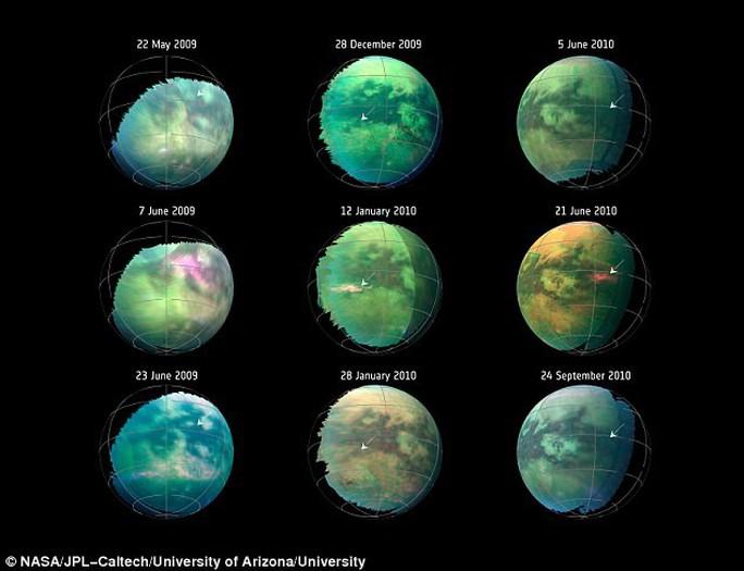 Siêu bão bụi mang dấu hiệu sự sống trên mặt trăng Sao Thổ - Ảnh 2.