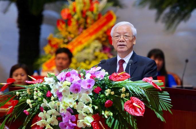 Tổng Bí thư Nguyễn Phú Trọng: Lấy nhu cầu hợp pháp, chính đáng của NLĐ làm cơ sở hoạt động - Ảnh 1.