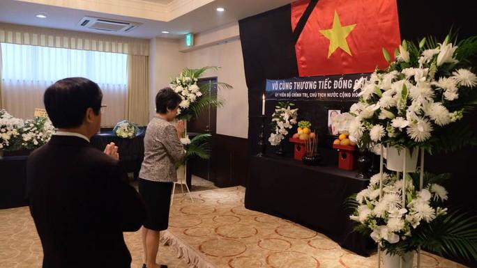 Lãnh đạo nước ngoài đến Đại sứ quán viếng Chủ tịch nước Trần Đại Quang - Ảnh 12.