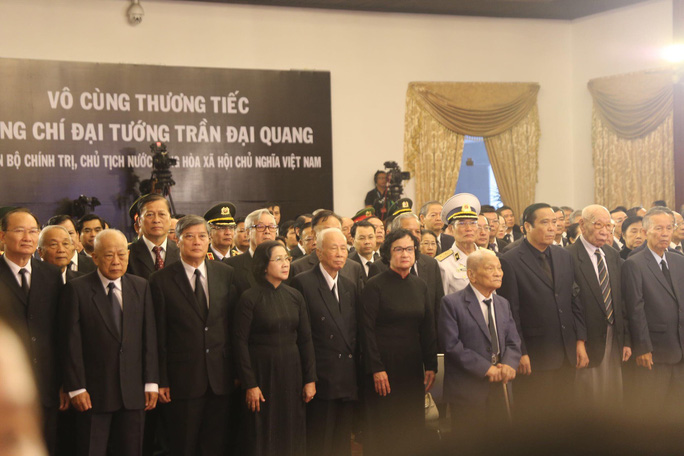 Lễ viếng Chủ tịch nước Trần Đại Quang tại TP HCM - Ảnh 1.