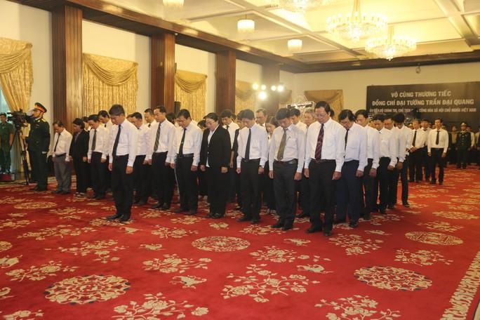 Lễ viếng Chủ tịch nước Trần Đại Quang tại TP HCM - Ảnh 11.