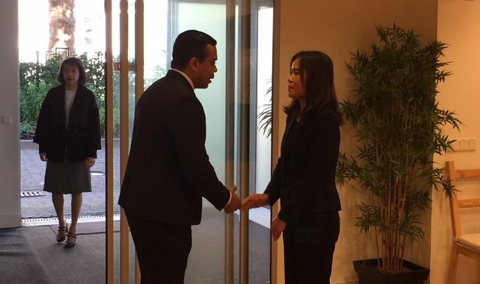 Lãnh đạo nước ngoài đến Đại sứ quán viếng Chủ tịch nước Trần Đại Quang - Ảnh 3.