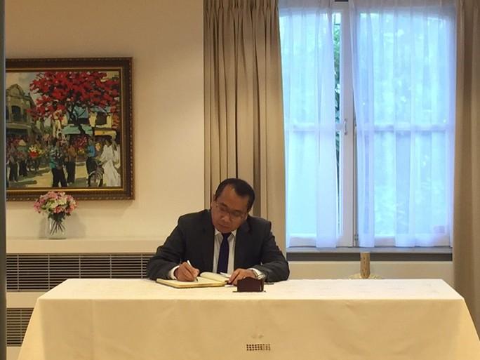 Lãnh đạo nước ngoài đến Đại sứ quán viếng Chủ tịch nước Trần Đại Quang - Ảnh 5.