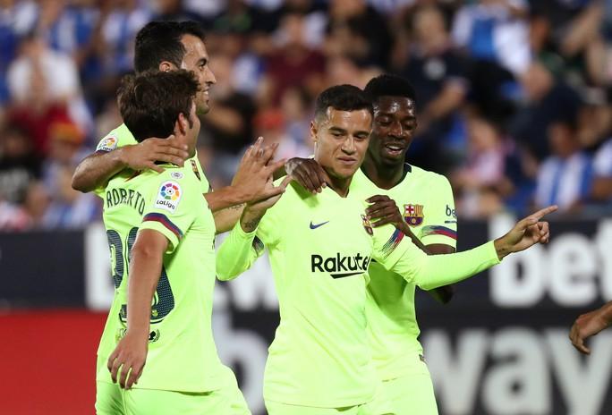 La Liga sốc khi Barcelona và Real Madrid rủ nhau bại trận - Ảnh 3.