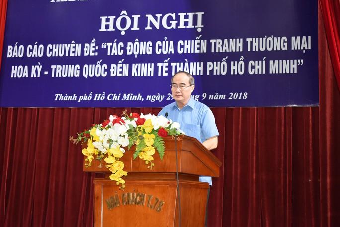 TP HCM phải ứng phó chiến tranh thương mại nhạy bén hơn địa phương khác - Ảnh 1.