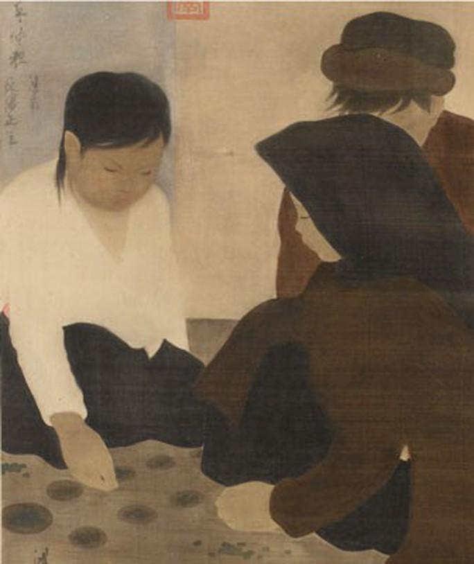 Bức tranh Gia đình của Lê Phổ bán với giá gần 750.000 USD - Ảnh 2.