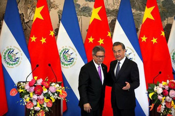 Mỹ muốn trừng phạt El Salvador vì thân Trung Quốc - Ảnh 1.
