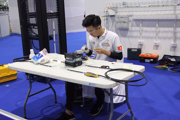 Việt Nam đứng thứ ba tại kỳ thi tay nghề ASEAN 12 - Ảnh 1.