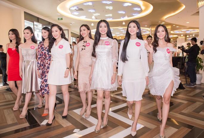 Ứng viên Hoa hậu Việt Nam 2018 chạy nước rút cho chặng đua cuối - Ảnh 5.