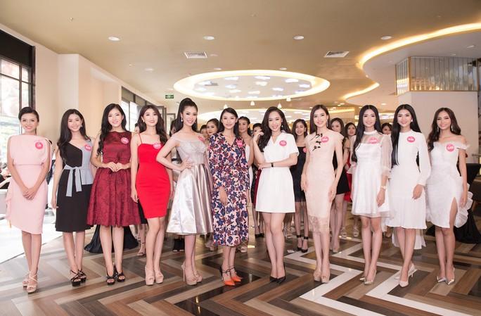 Ứng viên Hoa hậu Việt Nam 2018 chạy nước rút cho chặng đua cuối - Ảnh 1.
