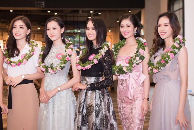 Ứng viên Hoa hậu Việt Nam 2018 chạy nước rút cho chặng đua cuối - Ảnh 2.
