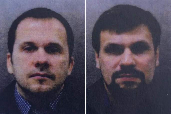 Vụ đầu độc điệp viên 2 mang Sergei Skripal: Anh buộc tội 2 người Nga - Ảnh 1.