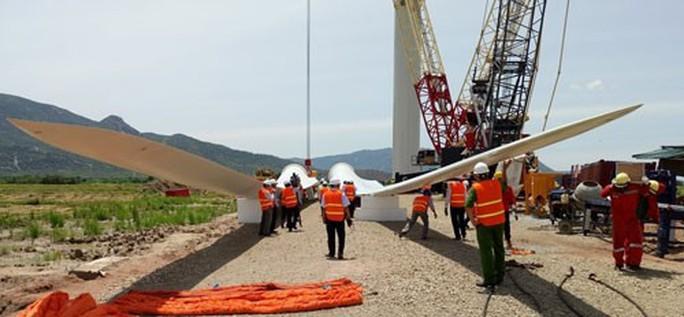 Nhiều dự án điện gió ì ạch - Ảnh 1.