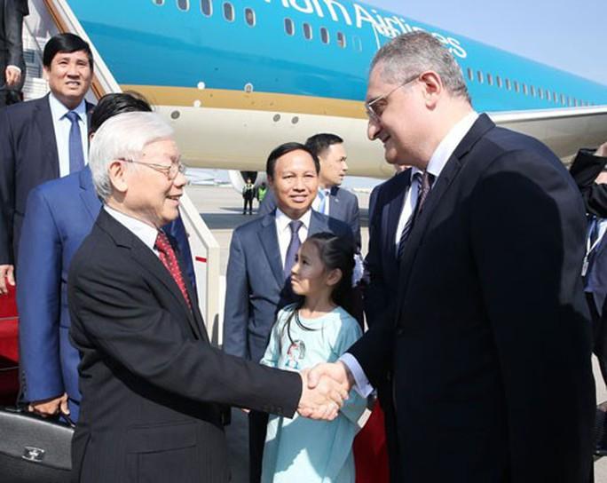 Việt Nam thúc đẩy quan hệ với Nga - Ảnh 1.
