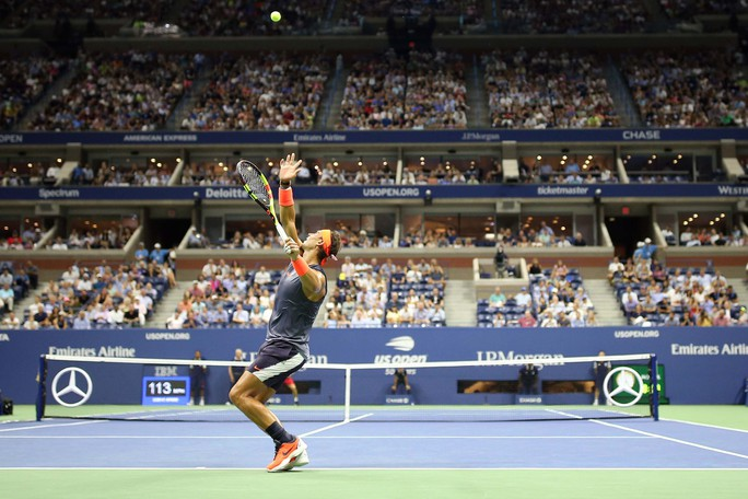 Clip: Thua ngược Nadal, Dominic Thiem thốt lên Tennis thật tàn nhẫn - Ảnh 8.