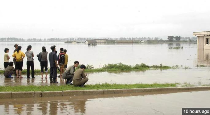 Triều Tiên: Lũ lụt, 76 người thiệt mạng - Ảnh 2.