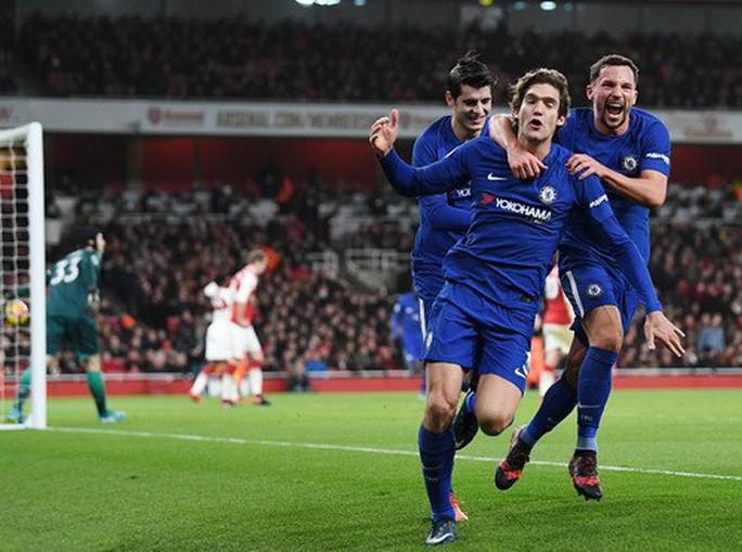 Nghẹt thở trận derby, Arsenal hòa Chelsea ở Emirates - Ảnh 7.