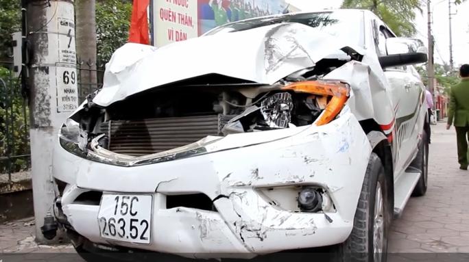 Tài xế xe điên tông chết 2 nữ sinh là giám đốc doanh nghiệp vận tải - Ảnh 1.