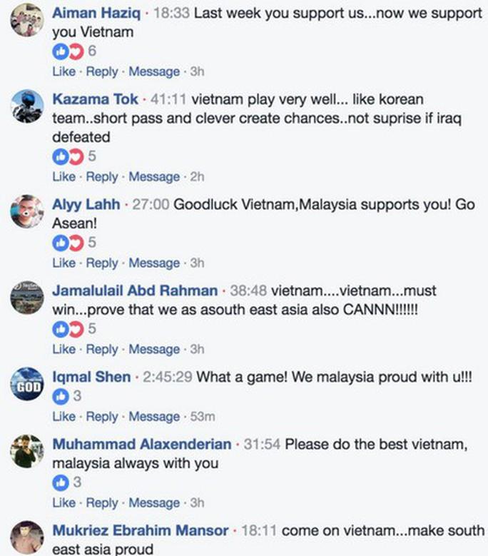 Cả ASEAN ủng hộ U23 Việt Nam trước bán kết Cúp châu Á - Ảnh 4.