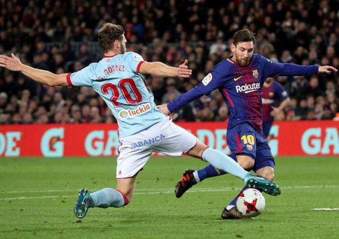 Thắng 5 sao Celta Vigo, Barcelona vào tứ kết Cúp Nhà vua - Ảnh 2.
